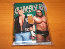 WRESTLING STONE COLD STEVE AUSTIN AND TRIPLE H LIGHT SWITCH PLATE