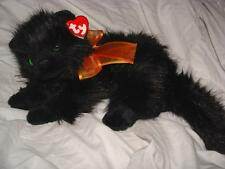 """2006 MOONSTRUCK the CAT TY BEANIE 13"""" W/RIBBON & TAG~FREE US SHIPPING"""