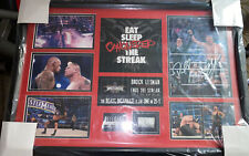 WWE Official Plaque Wrestlemania XXX 30 2013 Brock Lesnar vs Undertaker #31/500