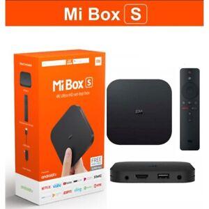 Original Xiaomi Mi Box - 4k Ultra HDR TV Streaming Media Player With Voice