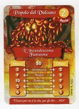 figurina - CARD GORMITI - SERIE 2 L'ICANDESCENTE FANTASMA