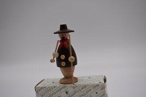 Kleines Räuchermännchen Schäfer Handarbeit Legler, Erzgebirge, Weihnachten