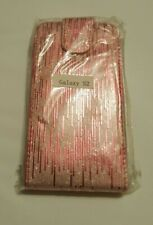 SAMSUNG GALAXY S2 MOBILE PHONE FLIP COVER PINK STRIPE NEW