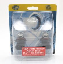 NEW Hella High Performance Xenon Blue Bulb Set of 2 H83165002 12V 65W HB3 9005