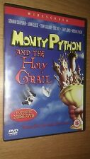 Monty Python And The Holy Grail UK 2-Disc DVD Cleese Gilliam Jones Palin Idle