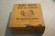 "Elbee Easyin Vintage Ring Compressor 3 1/8"".Nash6,Plymouth6, Willys,more.(Box16)"