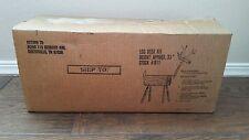 "New In Box Log Deer Kit Christmas Kid's Craft Real Wood Decoration 33"" #911"