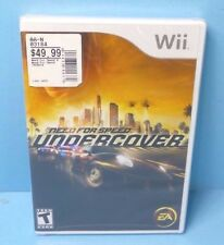 Need For Speed: Undercover Nintendo Wii BRAND NEW FACTORY SEALED