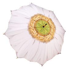 Galleria Stick Umbrella - White Daisy