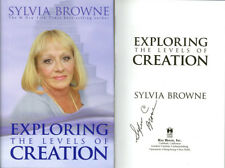 Sylvia Browne SIGNED AUTOGRAPHED Exploring The Levels of Creation HC 1st Ed Psyc