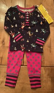 Matilda Jane On The Ice PJ Set size 2 New With Tag Moments With You Pajamas
