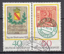 BRD 1978 Mi. Nr. 980-981 ZD Gestempelt LUXUS!!! (21568)