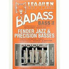 NEW Leo Quan® Badass® II Bass Bridge 4 String - CHROME