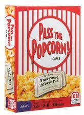 PASS THE POPCORN Movie Guessing Game 2-8 Players Teens Adults Birthday Gift!