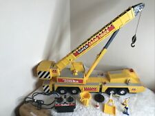 Tonka Super Crane 3201 Battery/Remote Controlled/ Motorized Crane +Lights/Sound