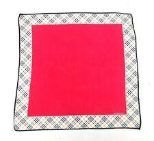 Burberry Bandana Pocket Square Mini Scarf Neckerchief Handkerchief Nova Check