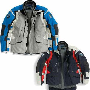 BMW Motorrad Rallye Mens Motorcycle Waterproof Jacket Blue/Black or Grey