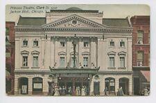Postcard - Chicago, IL -  Princess Theatre - Clark St. Jackson Blvd - OLD 1915