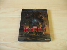 Blu Ray Iron Man 3 - Robert Downey Jr. & Gwyneth Paltrow - Steelbook Edition