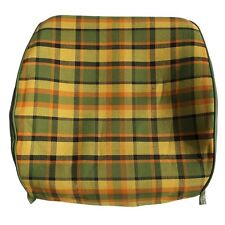 Westfalia Late Bay Front Seat Open Back Cover in Yellow Plaid 1975-1979 C9253Y