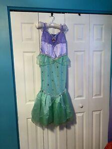 Little Mermaid Ariel costume girls size 7-8
