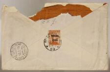 POSTA MILITARE 53 BUSTA CON 20 CENTESIMI VENEZIA GIULIA 10.2.1919 #XP392E