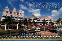 ARUBA Oranjestad Royal Plaza color Netherlands Antilles Niederländische Antillen