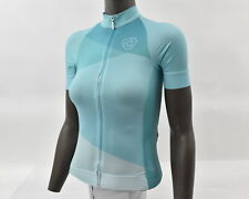 Verge Women's XS Strike Aero Short Sleeve Cycling Jersey Teal New Old Stock
