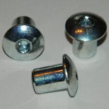 10 Stk. Hülsenmuttern M10 Stahl verzinkt geschlossen mit ISK Hülsenmutter