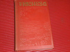 VINTAGE BOOK  RICHES  RELIGIOUS  SPIRITUAL  WATCHTOWER  1936 JEHOVAH