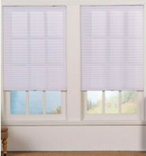 Perfect Lift Window Treatment White Cordless Pleated Shade 28 in. W x 72 in. L