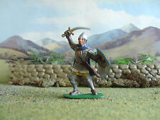 Supreme Medieval Russian knight attacking 60mm painted