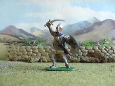 Supreme Medievale Cavaliere Russo attaccando dipinto 60mm