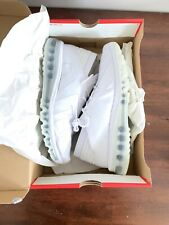 Nike Air Max Flair Triple White Platinum Colorway $180 Size 9.5 360 Air Max