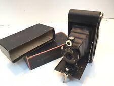 KODAK No.2 FOLDING Autographic BROWNIE Bellows Camera With Box