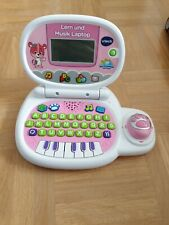 VTech Mein Lernlaptop rosa Lerncomputer Lernspielzeug Kindercomputer 3-5 Jahre