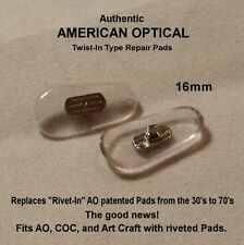 "AMERICAN OPTICAL True Vintage - Authentic AO Twist-In ""Repair"" Nose Pads"