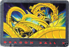 DRAGON BALL Z série 2 n° 10 - ILDEGANE encercle par le DRAGON D'OR (A2695)