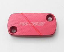 Red CNC Front Brake Reservoir Fluid Cover Cap For Honda CR80R 85R 125R 250R 500R