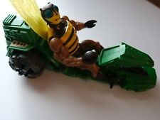 Buzz off He-Man Motu Masters of the Universe action figure 1983 Bee  with bike