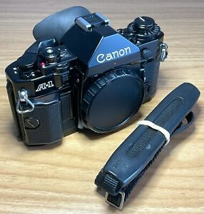 Canon A1 35mm SLR Film Camera Body - Fully Working - No Cough - New Light Seals
