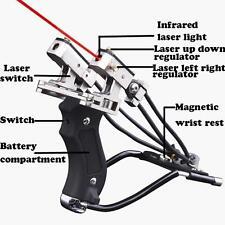Powerful Hunting Wrist Slingshot Brace Catapult Pro Sling Shooting Sniper Tool