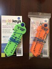 New ListingLearning Wrap-Ups Addition & Subtraction Keys Set Math Keys Discovery Toys