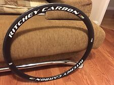 Brand New Ritchey WCS Road Bike Front  one Wheel (rim) 700 Carbon Tubular 38mm