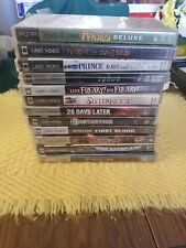 Lot of 11 PSP UMD Movies one game Rambo riddick spawn Constantine prince dream