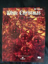 'White Christmas' - Vintage Sheet Music Score!