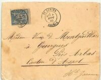 FRANCE St Lizier Cover 1886  {samwells-covers} CG218