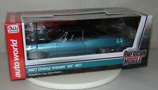 AUTO WORLD Boxed Die Cast Car 1967 CHEVY IMPALA SS 427 1:18 Blue