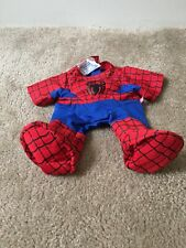 SpiderMan Marvel Build A Bear Stitched With Love MultiColor Animal Costume