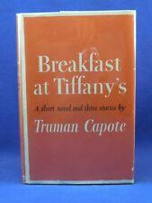 BREAKFAST AT TIFFANY'S Truman Capote, 1958, 1st Edition First Print Orig DJ